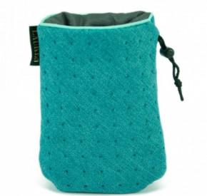 LAUREN design Saszetka treningowa turkusowa pikowana