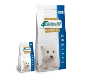 4T Veterinary Diet DERMATOSIS DOG Salmon & Potato 14 kg