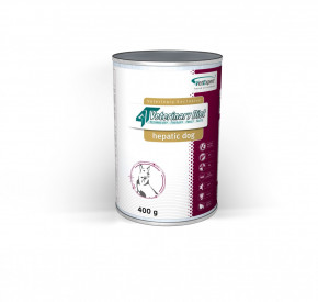 4T Veterinary Diet HEPATIC DOG 400 g