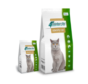 4T Veterinary Diet OBESITY CAT 400 g