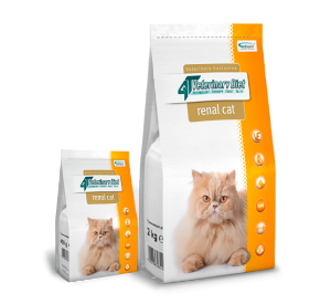 4T Veterinary Diet RENAL CAT 2 kg