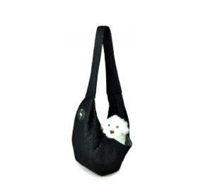 LAUREN design Nosidło SARA czarne pikowane