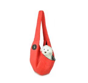 LAUREN design Nosidło SARA czerwone pikowane