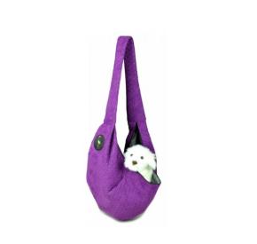 LAUREN design Nosidło SARA fioletowe pikowane