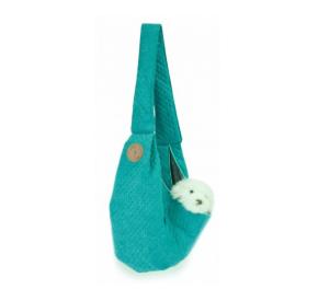 LAUREN design Nosidło SARA turkusowe pikowane