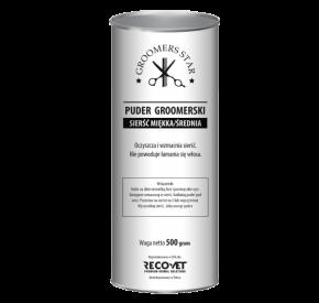 Groomers Star Puder groomerski na sierść miękką oraz średnią 500 g