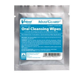 MAXI/GUARD Oral Cleansing Wipes 10 sztuk