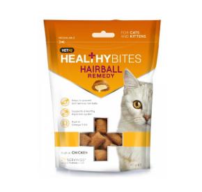 VETIQ Przysmaki dla kotów i kociąt Kule włosowe 65 g