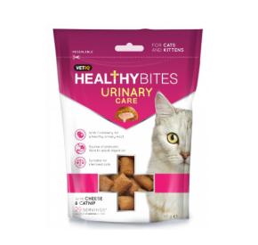 VETIQ Przysmaki dla kotów i kociąt Układ moczowy 65 g