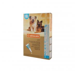 advocate PIES dla psów o masie ciała 4-10 kg