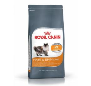 Royal Canin HAIR & SKIN Karma dla kotów dla zdrowej sierści i skóry 400 g