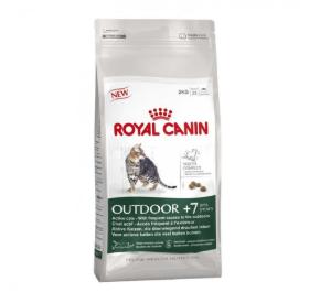 Royal Canin OUTDOOR +7 Karma dla starszych kotów wychodzących 400 g