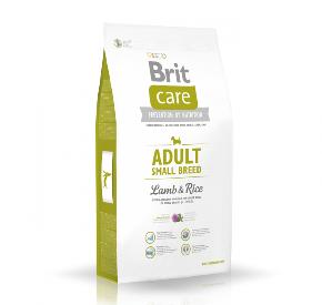 BRIT CARE ADULT SMALL BREED LAMB & RICE hipoalergiczna/psy dorosłe/rasy małe JAGNIĘCINA I RYŻ 1 kg