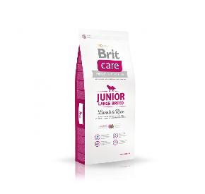 BRIT CARE JUNIOR LARGE BREED LAMB & RICE hipoalergiczna/junior/rasy duże JAGNIĘCINA I RYŻ 3 kg