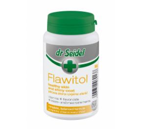 dr Seidel Flawitol zdrowa skóra i lśniąca sierść 60 tabletek