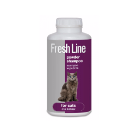 Fresh Line Szampon dla kotów w pudrze