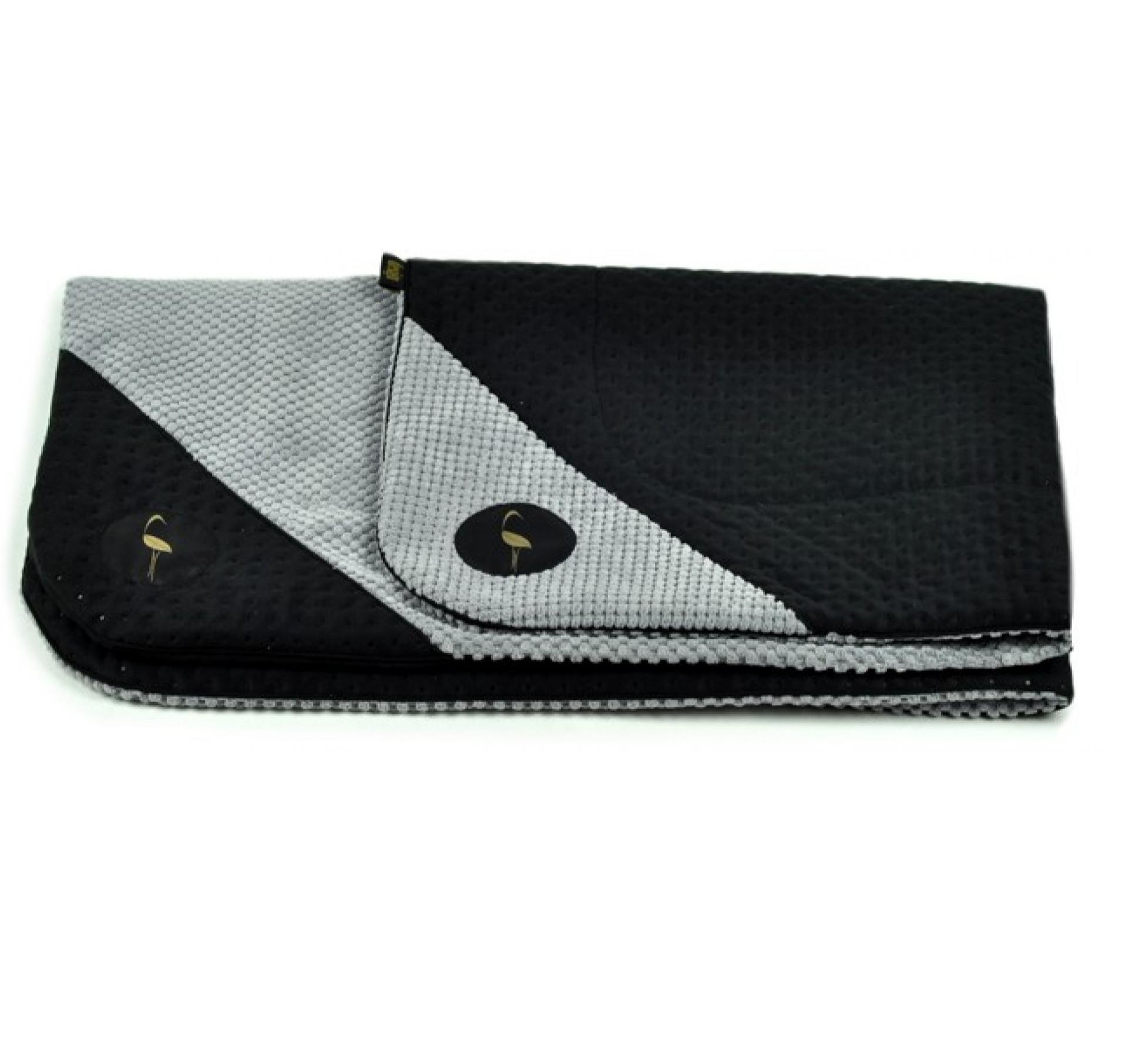 LAUREN design Mata DANTE czarna pikowana + szara