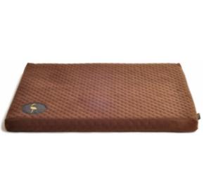 LAUREN design Materac DEMI brązowy pikowany 100/80 cm