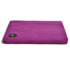 LAUREN design Materac DEMI fioletowy pikowany 70/60 cm