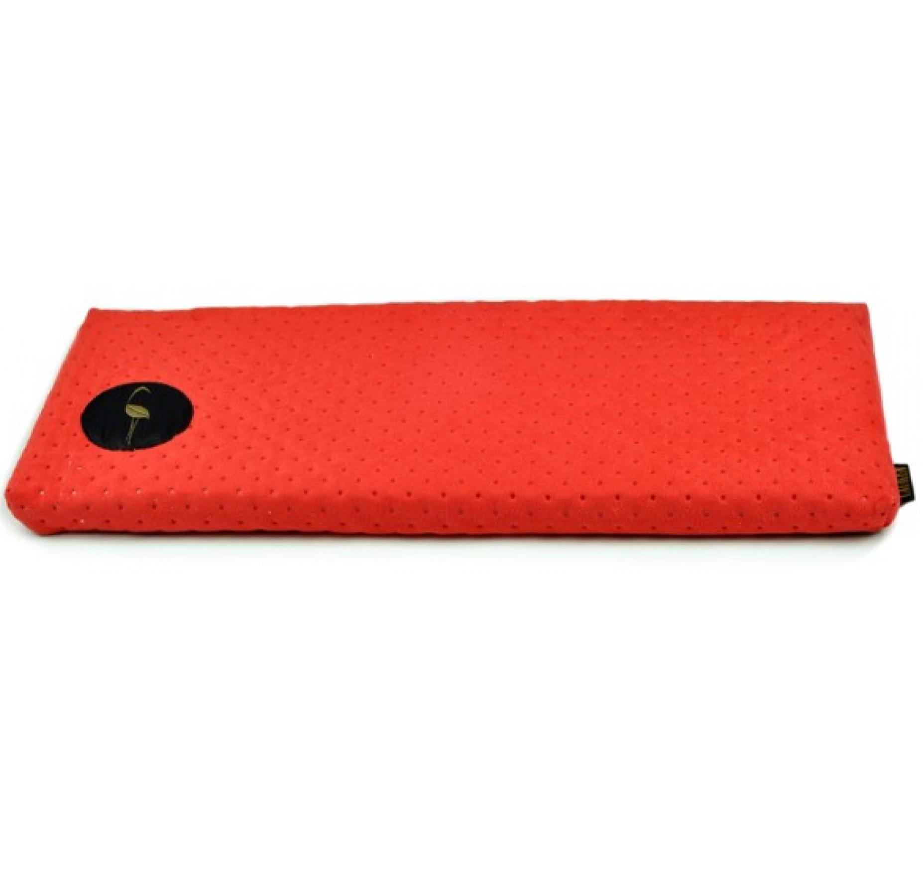 LAUREN design Parapeciak CLEO czerwony pikowany