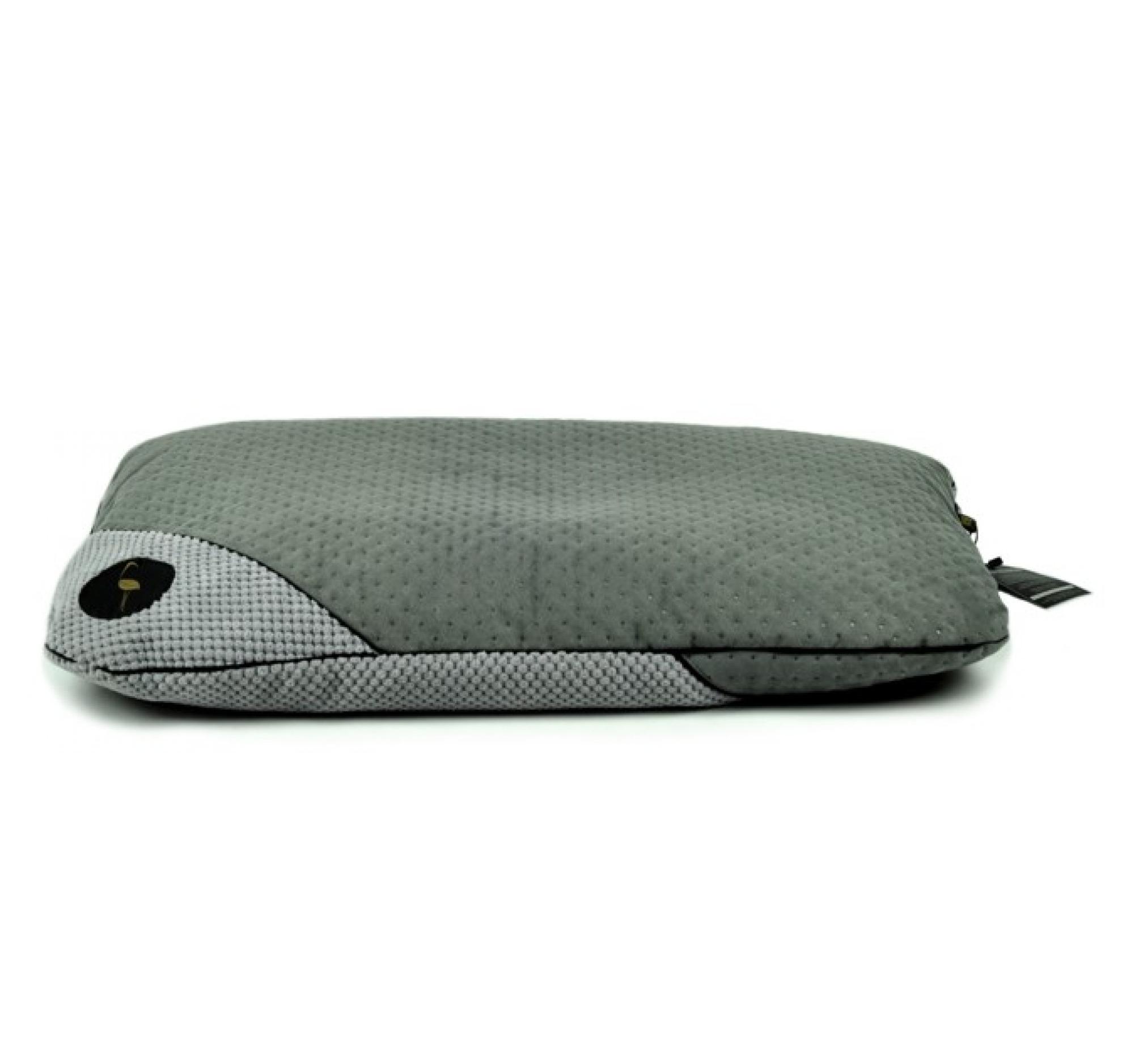 LAUREN design Posłanie FRIDA szare pikowane + szare 100/80 cm