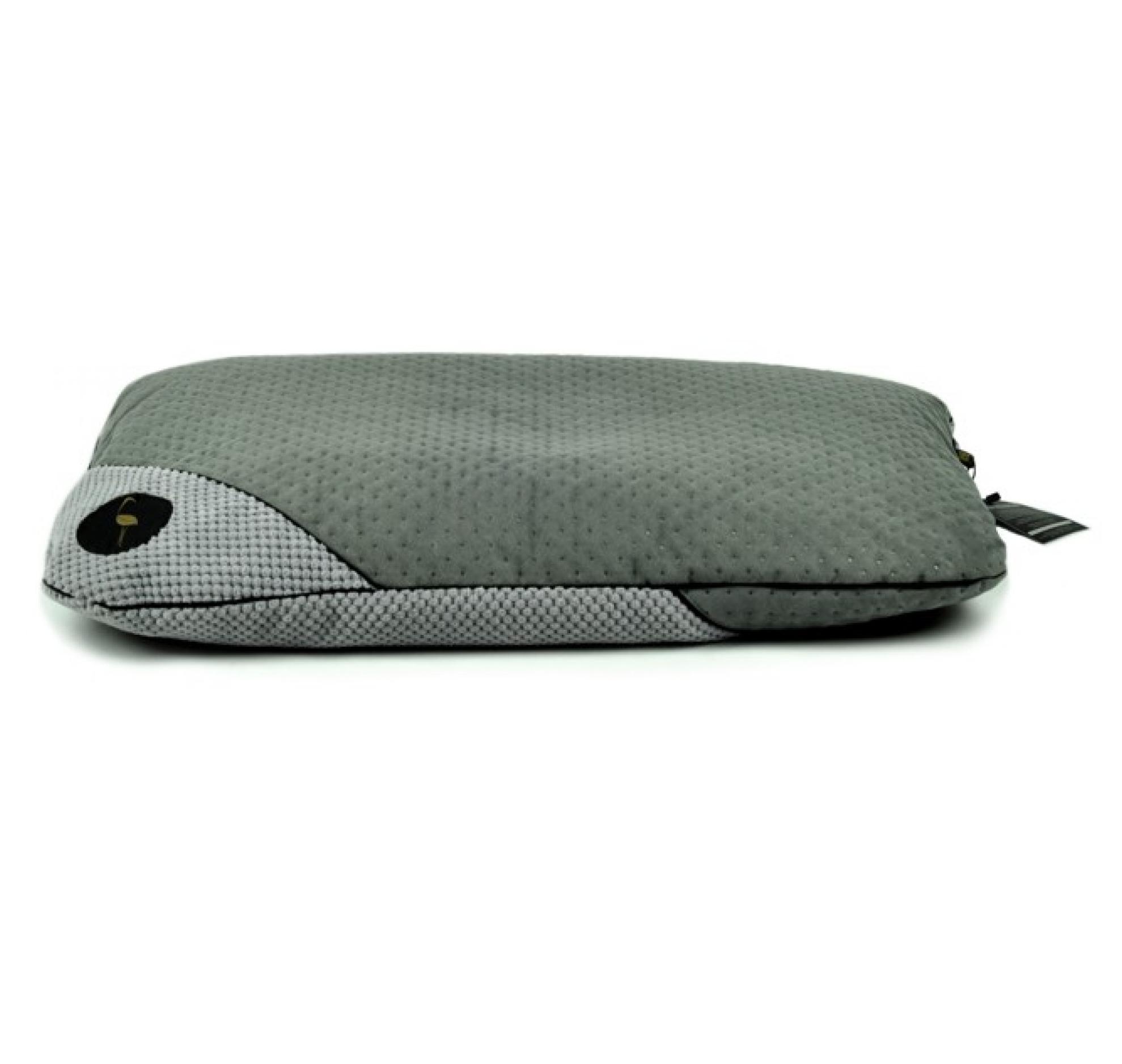 LAUREN design Posłanie FRIDA szare pikowane + szare 85/65 cm