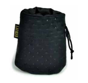 LAUREN design Saszetka treningowa czarna pikowana