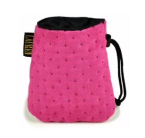 LAUREN design Saszetka treningowa różowa pikowana