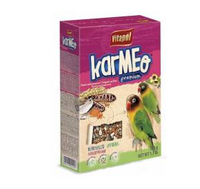 Vitapol KARMEO Premium Karma pełnoporcjowa dla nierozłączek 500 g kartonik