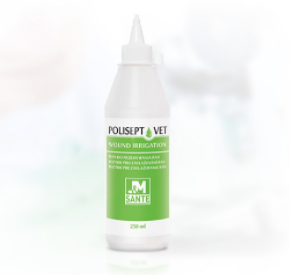 POLISEPT VET WOUND IRRIGATION