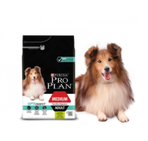 Purina PRO PLAN MEDIUM ADULT Sensitive Digestion OPTIDIGEST 3 kg