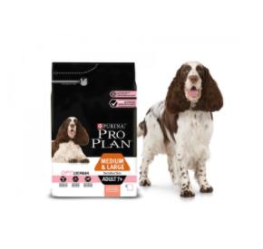 Purina PRO PLAN MEDIUM & LARGE ADULT 7+ Sensitive Skin OPTIDERMA 3 kg