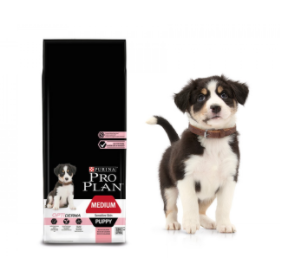 Purina PRO PLAN MEDIUM PUPPY Sensitive Skin OPTIDERMA 12 kg