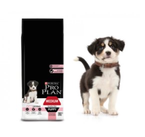 Purina PRO PLAN MEDIUM PUPPY Sensitive Skin OPTIDERMA 1,5 kg