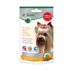 dr Seidel Smakołyki dla psów na piękną skórę i sierść