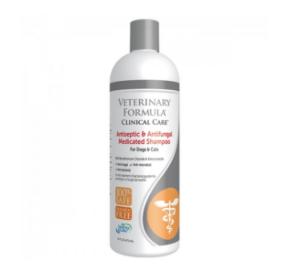 VFCC Leczniczy szampon antyseptyczny i przeciwgrzybiczy dla psów i kotów