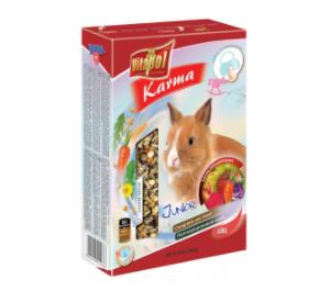Vitapol JUNIOR Karma pełnoporcjowa dla młodych królików od 8 do 12 miesiąca życia 400 g