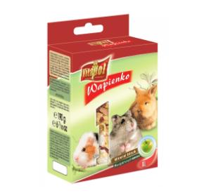 Vitapol Kostka wapienna jabłkowa XL dla gryzoni i królika
