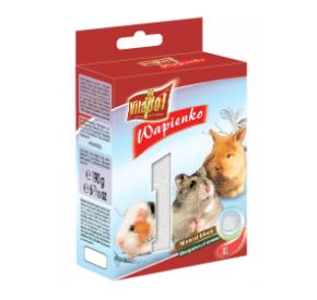Vitapol Kostka wapienna naturalna XL dla gryzoni i królika