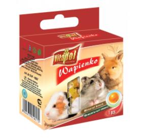 Vitapol Kostka wapienna pomarańczowa dla gryzoni i królika