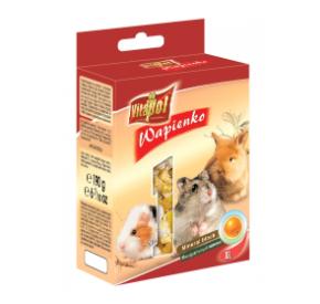 Vitapol Kostka wapienna pomarańczowa XL dla gryzoni i królika