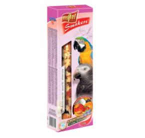 Vitapol Smakers XXL z owocami tropikalnymi dla dużych papug