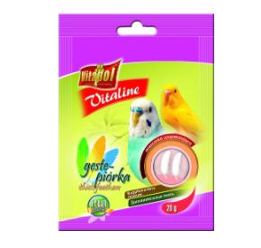 Vitapol Vitaline gęste piórka dla papużki falistej