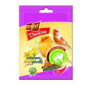 Vitapol Vitaline miodowe perełki dla kanarka