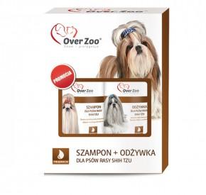 Zestaw dla psów rasy Shih Tzu Szampon + Odżywka